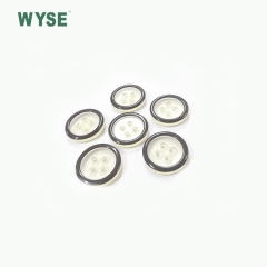 polyester 4h clear button