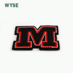 New design fashionable letter woven label