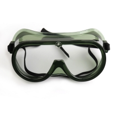 Customized transparent goggles with clear lenses for safety and epidemic prevention
