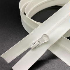 No.3 No.5 nylon waterproof zipper special protective suit white nylon waterproof code in stock