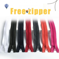 The manufacturer wholesale zipper no.3, No.5, No.8 nylon zipper garment bags customized with European standard waterproof zipper