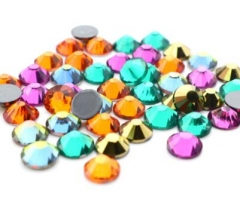 New design hot drilling DIY shiny rhinestones and diamond nail art glass bling crystal decorative rhinestone