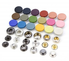 Manufacturers Wholesale Colorful Coat Cotton-Padded Jacket Snap Buttons For Clothes