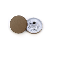 Factory direct fast delivery paint finish 15mm+ 486 underpart for brass snap button for garment accessories